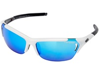 Tifosi Optics Radius Mirrored Interchangeable White Gunmetal Athletic Performance Sport Sunglasses