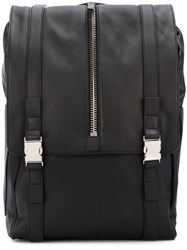 Giuseppe Zanotti Design 'Isaac' Backpack Black