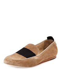 Rag And Bone Rag And Bone Sia Suede Colorblock Loafer Camel