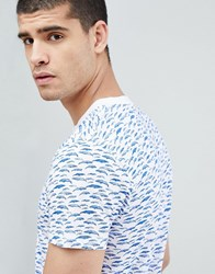 Tom Tailor T Shirt With Whale Print White
