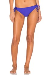 Ella Moss Stella Side Tie Bikini Bottom Purple