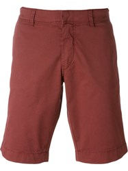 Fay Chino Shorts Red