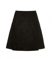 Stouls Suede Skirt Black