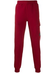 C.P. Company Cp Security Tag Track Pants Red