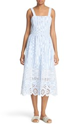 Sea Women's Exploded Eyelet Stripe Sundress