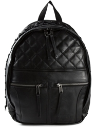 Jean Paul Gaultier Lace Trim Backpack Black