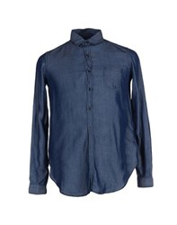 Maison Scotch Shirts Shirts Men Blue