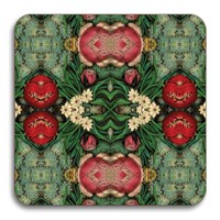 Avenida Home Patch Nyc Floral Coaster Pink Bouquet