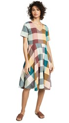 Ace And Jig Luella Dress Sandstone