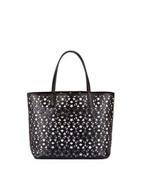 Givenchy Antigona Small Star Perforated Shopping Tote Black