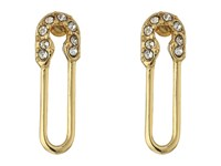 Rebecca Minkoff Safety Pin Stud Earrings Gold Earring