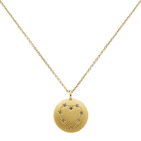Cachet London Ibis Love Pendant Gold