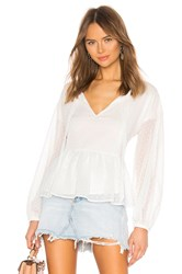 Cupcakes And Cashmere Amber Blouse White