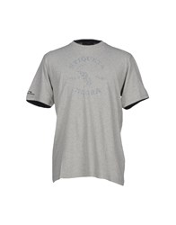 Etiqueta Negra Topwear T Shirts Men Light Grey