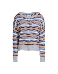George J. Love Sweaters Dark Blue