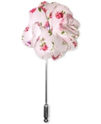 Penguin Gilmore Floral Lapel Pin Pink