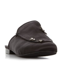 Kenneth Cole Wallace 2 Embellished Mules Black