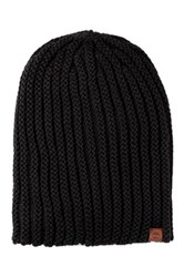 Timberland Chunky Slouchy Knit Beanie Black