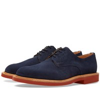 Mark Mcnairy Suede Derby Shoe Blue