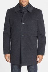 Vince Camuto Water Repellent Wool Blend Car Coat Gray