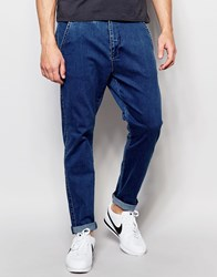 Dr. Denim Dr Denim Relaxed Tapered Rusty Chino Mid Blue Mid Blue
