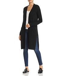 Bloomingdale's C By Cashmere Duster Cardigan 100 Exclusive Black