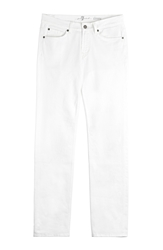 7 For All Mankind Stretch Cotton Straight Leg Jeans