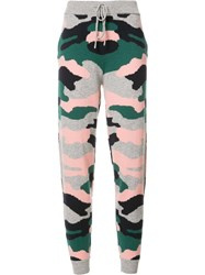 Chinti And Parker Military Print Track Pants