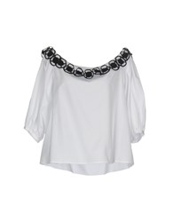 Space Style Concept Blouses White
