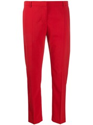 Semicouture Cropped Slim Fit Trousers 60