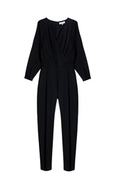 Paul And Joe Pleated Jumpsuit Black