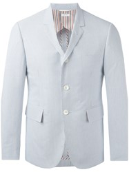 Thom Browne Striped Blazer Blue