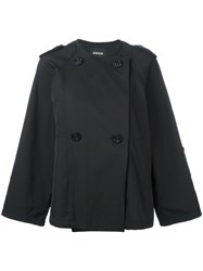 Zucca Double Breasted Jacket Black