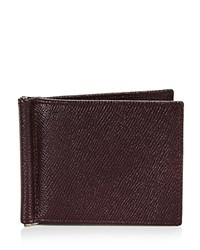 Bloomingdale's The Men's Store At Leather Wallet With Money Clip 100 Exclusive Burgundy