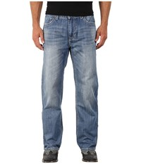 Rock And Roll Cowboy Double Barrel Relax In Medium Vintage M0s4931 Medium Vintage Men's Jeans Blue