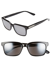 Randolph Engineering 'Milton' 54Mm Sunglasses Black Grey Flash Mirror