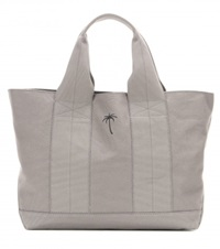 Tomas Maier Cotton Canvas Tote Grey