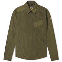 Belstaff Camber Nylon Zip Jacket Green