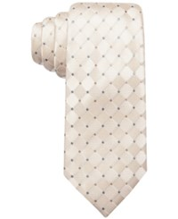 Countess Mara Parquet Dot Tie Natural