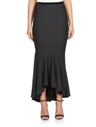 Haider Ackermann Ruffled Mermaid Skirt Black