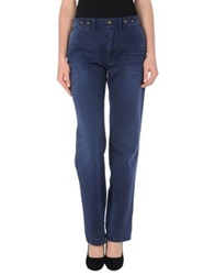 Semi Couture Casual Pants Blue