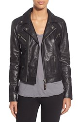 Women's Rudsak Asymmetrical Zip Leather Moto Jacket