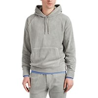 Ralph Lauren Purple Label Microfleece Hoodie Light Gray