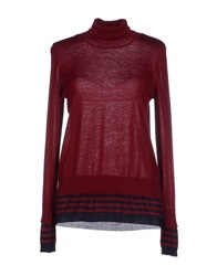 Suoli Turtlenecks Maroon