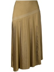 Nehera Pleated Skirt Brown