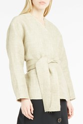 A.W.A.K.E. Women S Very Natural Kung Fu Jacket Boutique1 Beige