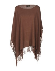 Annarita N. Capes And Ponchos Brown