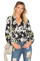 Lucca Couture Sophie Blouse Black
