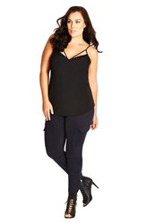 Plus Size Women's City Chic 'Smokey' Cargo Pants