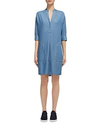 Whistles Lulu Chambray Shirt Dress Denim